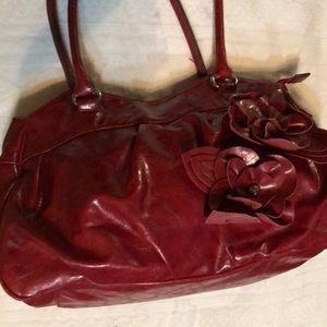 Nicole by Nicole Miller Handbag in Red